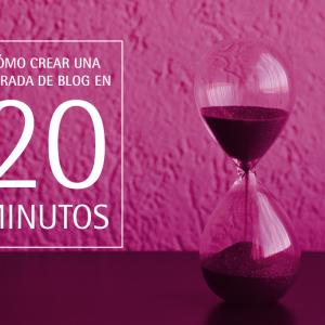 Cómo crear una entrada de blog inmobiliario en 20 minutos